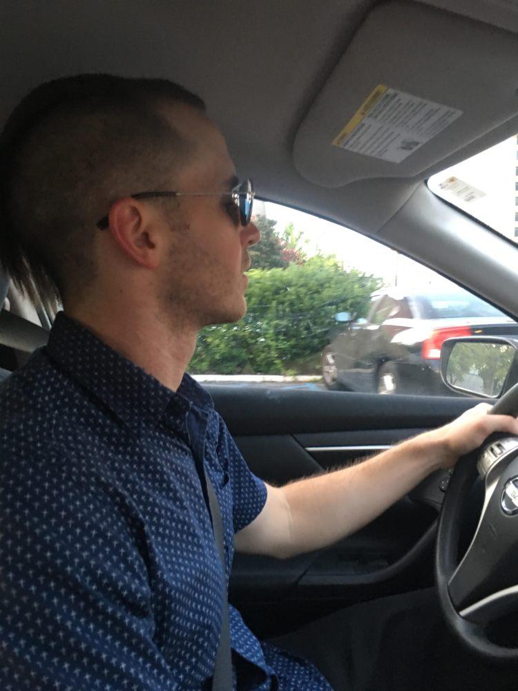 b driving